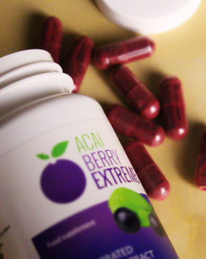 Jagody Acai w tabletkach